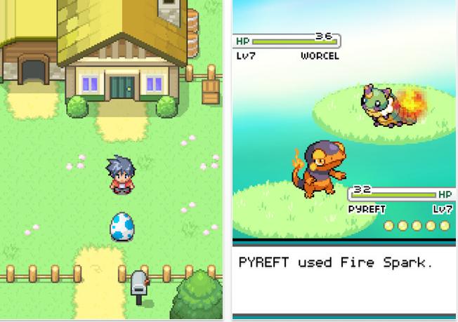 game like pokemon ios