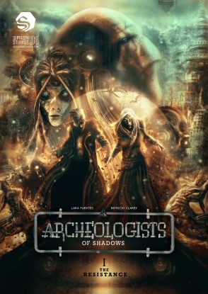 Cover for Issue 1 of Archeologists of Shadows
