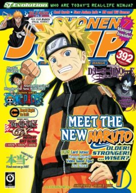 Shonen Jump Cover Jan 2008 copyright Shonen Jump