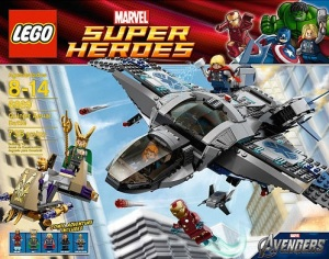 LEGO's Avengers Box Art