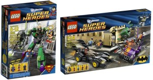 LEGO's DC Heroes Box Art
