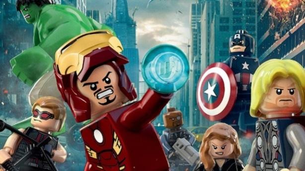 LEGO's Avengers Poster