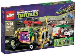 LEGO's TMNT Box Art