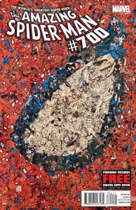 Marvel's The Amazing Spider-Man #700 Cover