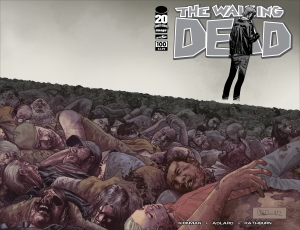 Image's The Walking Dead #100 Cover