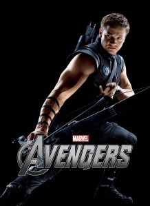 Jeremy Renner as Hawkeye in 'Marvel's The Avengers'