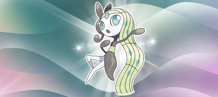 Meloetta Image from Pokémon.com