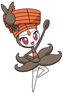Meloetta's Pirouette Form from Pokemon.com