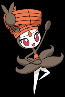 Meloetta's Pirouette Form from Pokemon.com