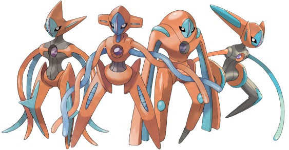The four forms of Deoxys