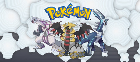 Palkia, Giratina, and, Dialga (image courtesy of Pokémon.com)
