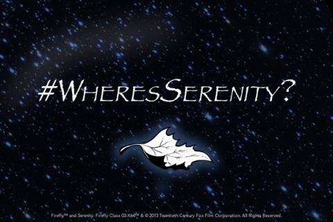 Dark Horse Comics' #WheresSerenity Teaser released in August