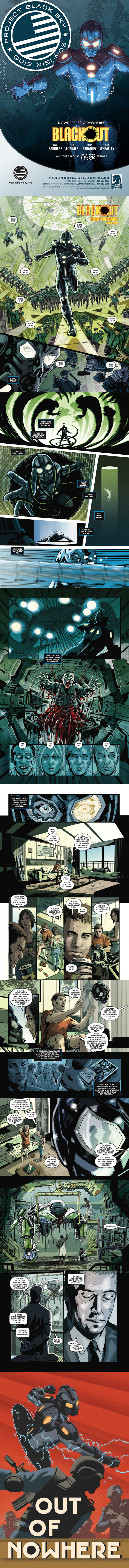 Blackout #1 Preview Pages Dark Horse Comics
