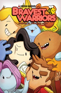 Cover to Bravest Warriors 18 from BOOM! Art by Tyson Hesse.