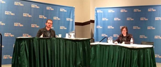 Josh Grelle (left) and Matthew Mercer (right)