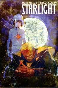 "Cover to ""Starlight"" #2 from Image. Cover art by Bill Sienkiewicz."