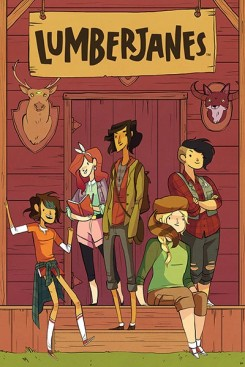 "Cover to ""Lumberjanes"" #1 from BOOM!. Cover art by Noelle Stevenson."