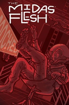 """Midas Flesh"" #5 from BOOM! Cover art by Emily Carroll."