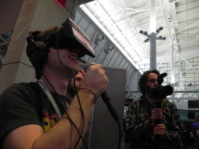 G&C's Ian Gaudreau Demoing SoundSelf at PAX East 2014
