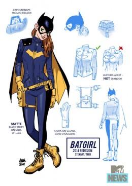 DC's Batgirl Redesign