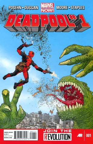Marvel's Current Deadpool (#1) Comic Series
